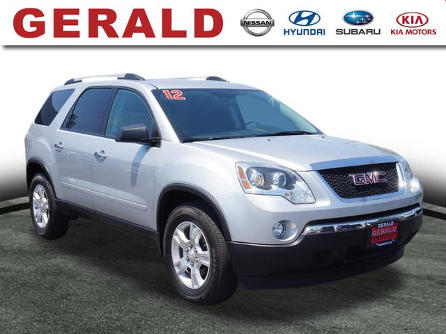 for acadia in roberts watervliet gmc of at ny slt auto inventory details sale