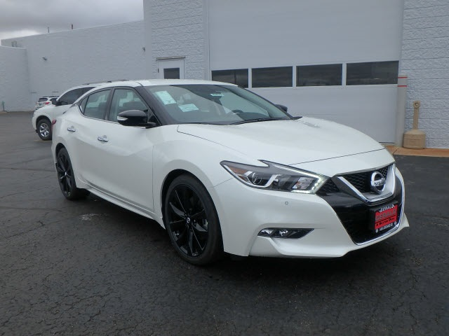 new 2017 nissan maxima sv 3 5l 3 5 sv 4dr sedan in naperville 43075 gerald nissan of naperville. Black Bedroom Furniture Sets. Home Design Ideas
