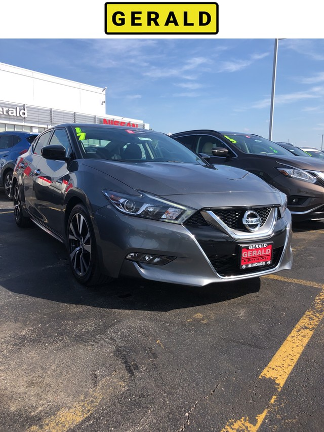 Certified Pre Owned 2017 Nissan Maxima S