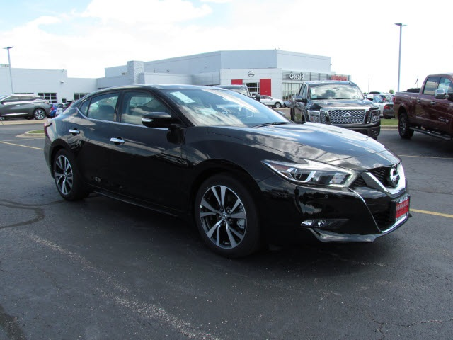 new 2017 nissan maxima sl 3 5 sl 4dr sedan in naperville 43312 gerald nissan of naperville. Black Bedroom Furniture Sets. Home Design Ideas