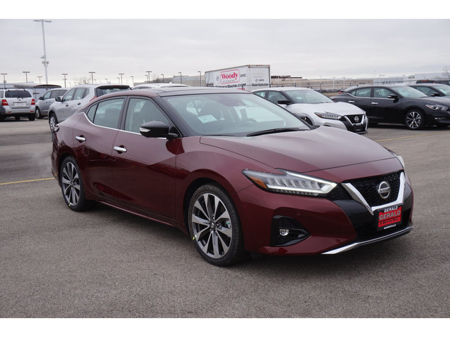 New 2019 Nissan Maxima Platinum Front Wheel Drive 4dr Car