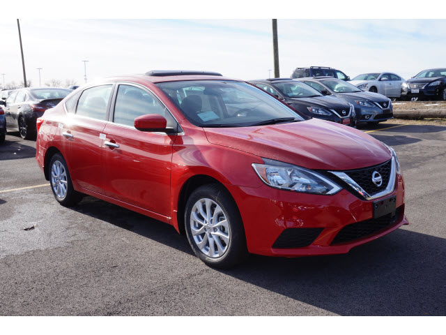 new 2018 nissan sentra sv cvt sv 4dr sedan in naperville 56763 gerald nissan of naperville. Black Bedroom Furniture Sets. Home Design Ideas