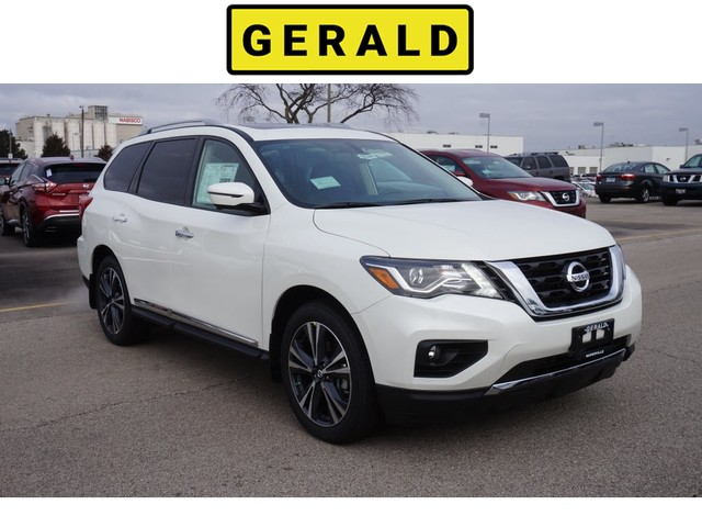 Four Wheel Drive Suv New 2019 Nissan Pathfinder Platinum