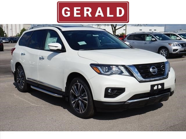 New 2018 Nissan Pathfinder 4X4 PLATINUM