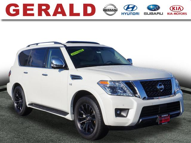 Certified Pre-Owned 2019 Nissan Armada 4X4 PLATINUM