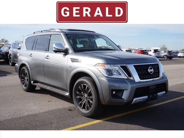 New 2018 Nissan Armada 4X4 PLATINUM 4x4 Platinum 4dr SUV in Naperville #56700 | Gerald Nissan of ...