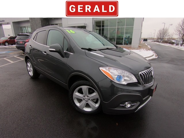 Pre Owned 2016 Buick Encore Leather Suv In Naperville 317802a