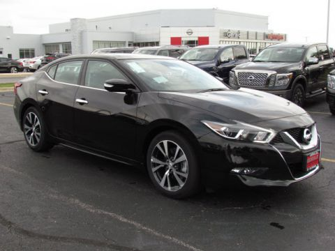 New 2017 Nissan Maxima PLAT With Navigation
